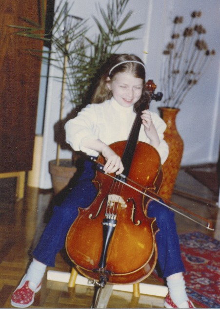 The first year with my cello